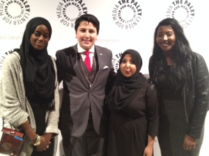 Syed & Girls at Paley