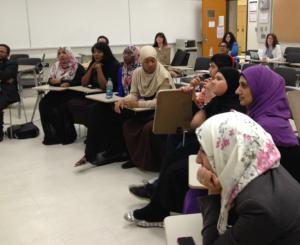 Group shot Panel at CSSE